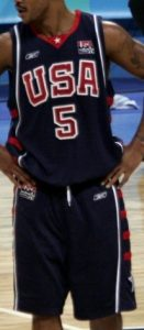 USA  2004 olympic games away jersey