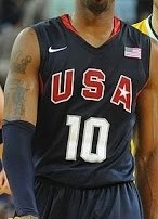 USA  2008 Olympics away kit