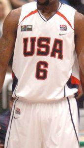 USA 2006 FIBA world cup Home kit