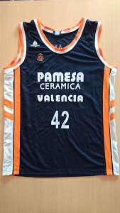 PAMESA Valencia Basket 2005-06 away kit