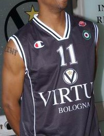Virtus Bologna 2002-03 away jersey