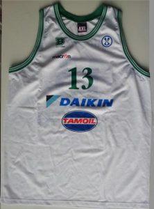 Daikin Treviso 2007 – 08 away kit