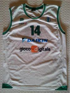 Daikin Treviso 2009-10 away kit