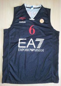 Olimpia Milano 2011 – 12 black jersey