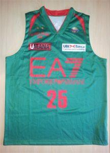 Olimpia Milano 2012 – 13 green jersey