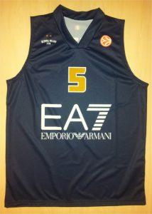 Olimpia Milano 2013 – 14 black jersey