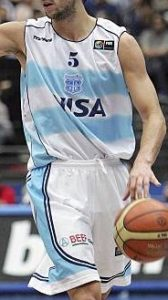 Argentina 2006 FIBA world cup home kit