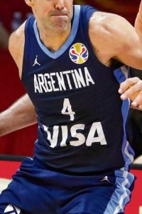 Argentina 2019 FIBA world cup away kit