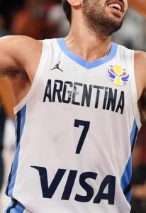 Argentina 2019 FIBA world cup main kit