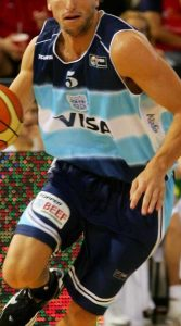 Argentina 2006 FIBA world cup away kit