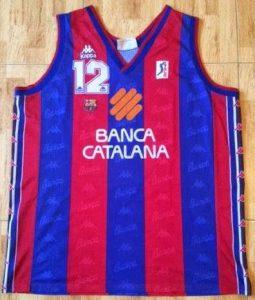 Barcelona 1996-97 Home jersey