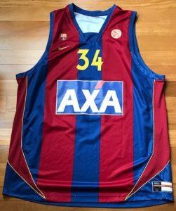 Barcelona 2007-08 Home jersey