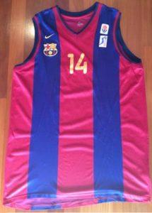 Barcelona 2000-01 Home jersey