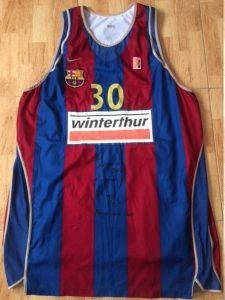 Barcelona 2002-03 Home jersey. european champions