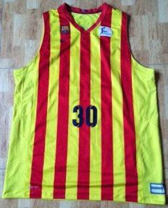 Barcelona 2014-15 senyera jersey