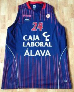 Caja Laboral Vitoria 2010 -11 away kit