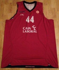 Caja Laboral Vitoria 2011 -12 away kit