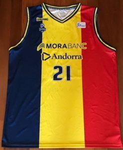 Morabanc Andorra 2018 -19 national flag jersey