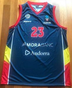Morabanc Andorra 2017 -18 Home jersey