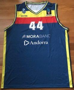 Morabanc Andorra 2018 -19 Home kit