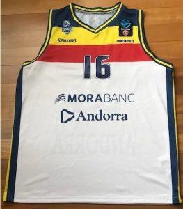 Morabanc Andorra 2018 -19 away jersey