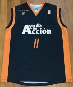 Baloncesto Fuenlabrada 2009 -10 away jersey
