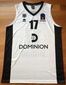 Bilbao Basket 2015 -16 white jersey