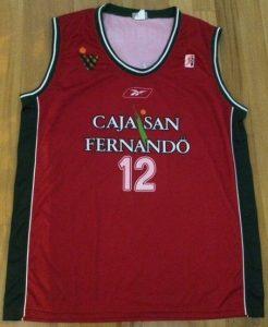 Caja San Fernando Sevilla 2003 – 2004 Home jersey