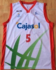 Cajasol Sevilla 2013 – 14 away jersey