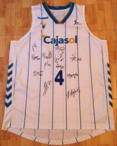 Cajasol Sevilla  2012 – 13 away jersey