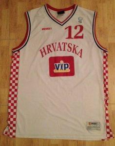 Croatia 2004 -05 Home jersey