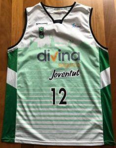 Joventut Badalona 2017 -18 away kit