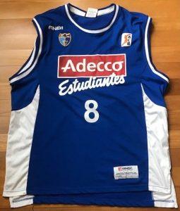 Adecco Estudiantes 2005 -06 Home kit