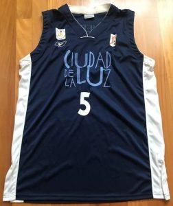 Lucentum Alicante 2005 -06 alternative jersey