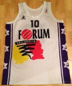 Forum Valladolid 1997 -98 away jersey