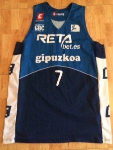 Retabet Gipuzkoa Basket 2015 -16 Home jersey