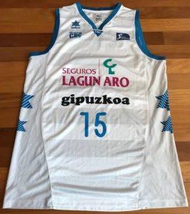 Lagun Aro Gipuzkoa Basket 2012 – 2013 away kit