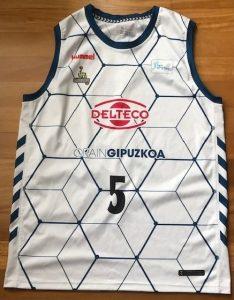 Delteco Gipuzkoa Basket 2018 -19 away kit