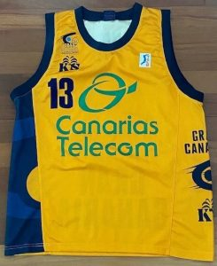 Canarias Telecom Gran Canaria 2000 – 2001 Home kit