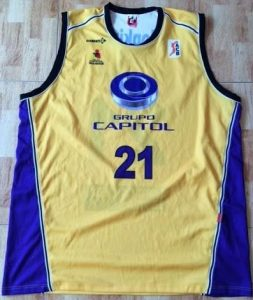 Grupo Capitol Valladolid 2006 -07 away jersey