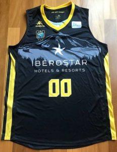 Iberostar Tenerife 2017 -18 away jersey