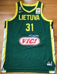 Lithuania 2018 – 2019 Home jersey