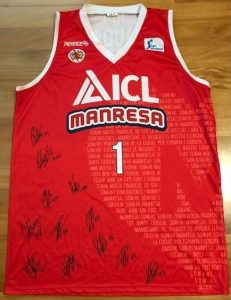 ICL Manresa 2016 -17 Home kit