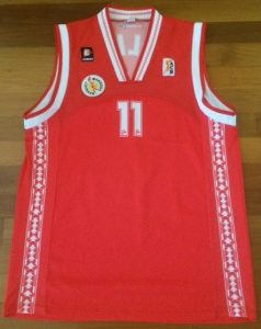 Bàsquet Manresa 2002 -03 Home kit