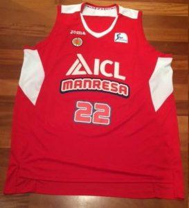 ICL Manresa 2015 -16 Home kit