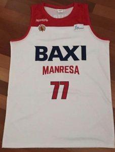 Baxi Manresa 2018 -19 away jersey
