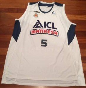 ICL Manresa 2015 -16 away kit