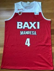 Baxi Manresa 2018 -19 Home kit