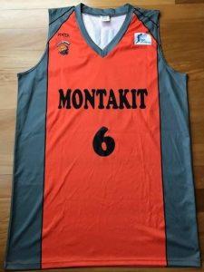 Montakit Fuenlabrada 2015 -16 Home jersey