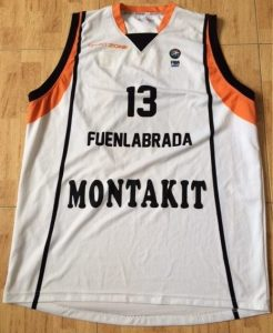 Montakit Fuenlabrada 2011 -12 away jersey